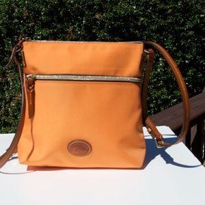Dooney & Bourke Crossbody Orange Nylon Bag